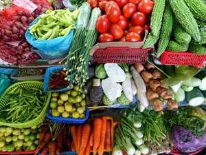 FRESH: Seasonal fresh produce on offer across the weekend.