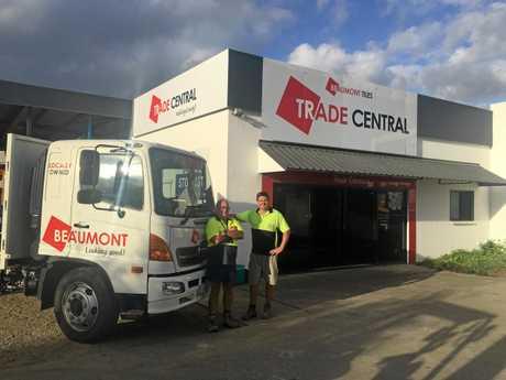 Beaumont Tiles Trade team: Paul Green  and Ryan Irwin