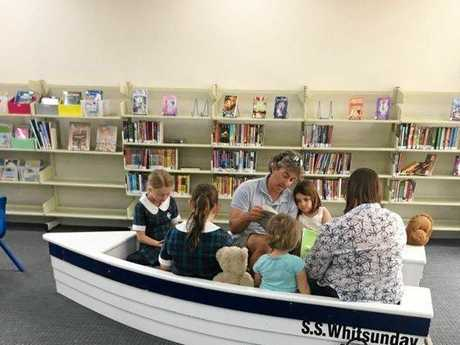 Customers using the Cannonvale Library boat space to be boarded by pirates next week.
