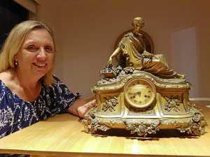 Historic clock chimes again at Glengallan