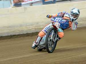 TOP GEAR: Rockhampton's Zane Keleher scored an important win at the Tamworth Speedway at the weekend.