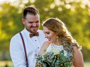 Rebecca and Steven Johnston wedding