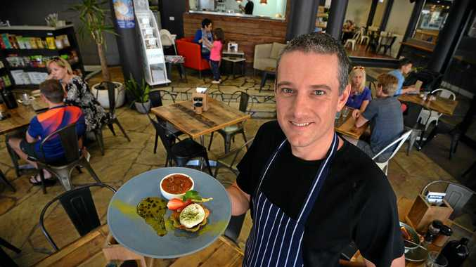 TASTY AND HEALTHY: CK Wholefoods has been named Dinner of the Year by the Sunshine Coast Gourmet Club, after it was rated the Coast's best dining experience by club members. Head chef Chris Deacon.