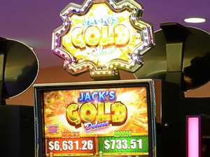 Pokie machine. Photo: Rob Williams / The Queensland Times