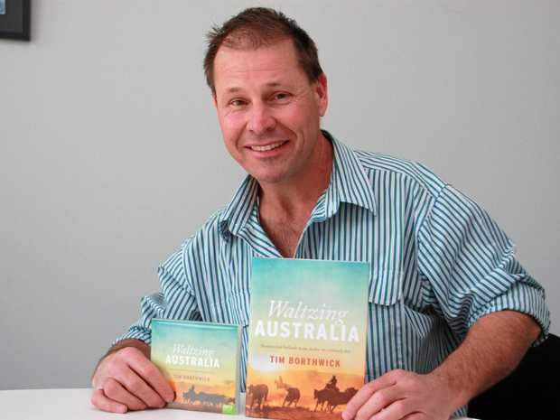 NEW BOOK: Author Tim Borthwick recently released a book inspired by life in the bush.