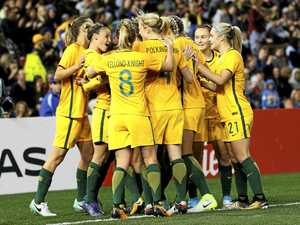 Sky's the limit for giant-killing Matildas