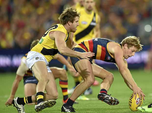 The Adelaide Crows and Richmond clash in round six at the Adelaide Oval with the Tigers wearing their away jumpers.