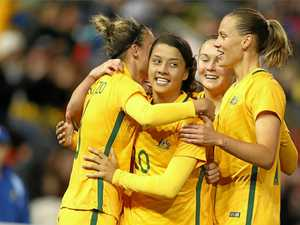 Lack of respect not good from Brazil, says Sam Kerr