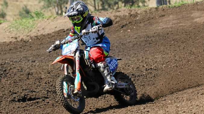 SPEEDSTER: Gympie motocross rider Luke Constantine is aiming for top spot at this month's KTM Australian Junior MotoX titles in Horsham, Victoria.