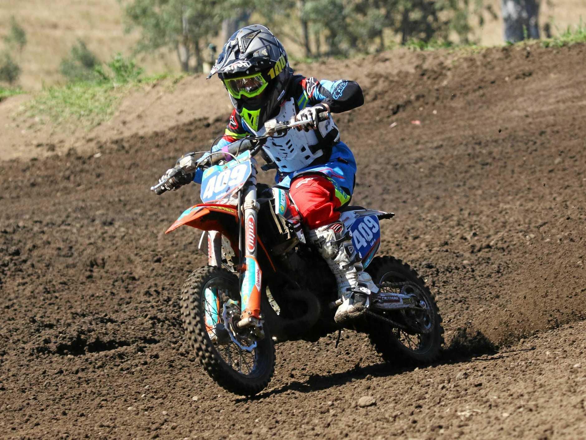 SPEEDSTER: Gympie motocross rider Luke Constantine is aiming for top spot at this month's KTM Australian Junior MotoX titles in Horsham, Victoria.