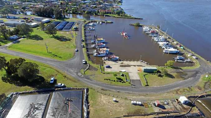 Dredging has been finished at the Ballina trawler harbour.
