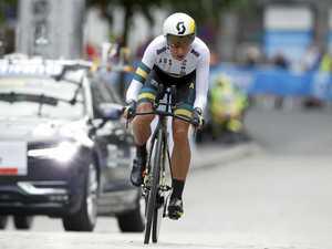 Katrin Garfoot claims slice of cycling history