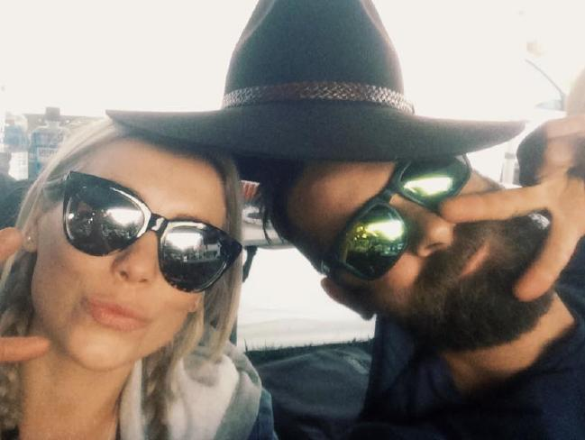 Leah and Ben loved travelling together.Source:Facebook