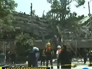 7.1 magnitude quake hits Mexico