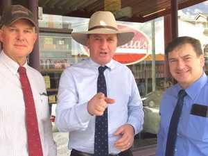 Barnaby Joyce visits Gympie