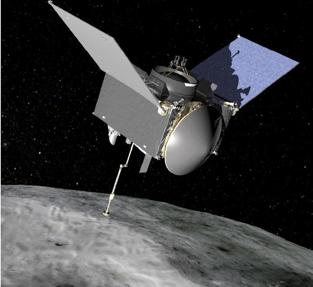 NASA's OSIRIS-REx spacecraft.