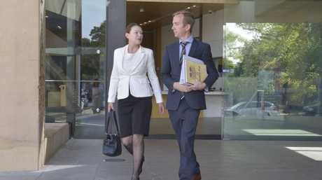 Patricia Petersen fronted court on September 21, charged with making threats against Ipswich City Councillor Paul Tully.