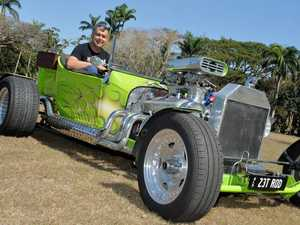 Andrew Lucke and his 1923 Ford T Bucket Hot Rod