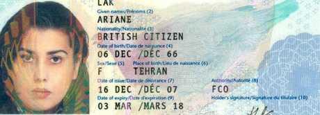 Millionaire British 'princess' Ariane Lak was found living rough in Milan. Picture: FacebookSource:Supplied
