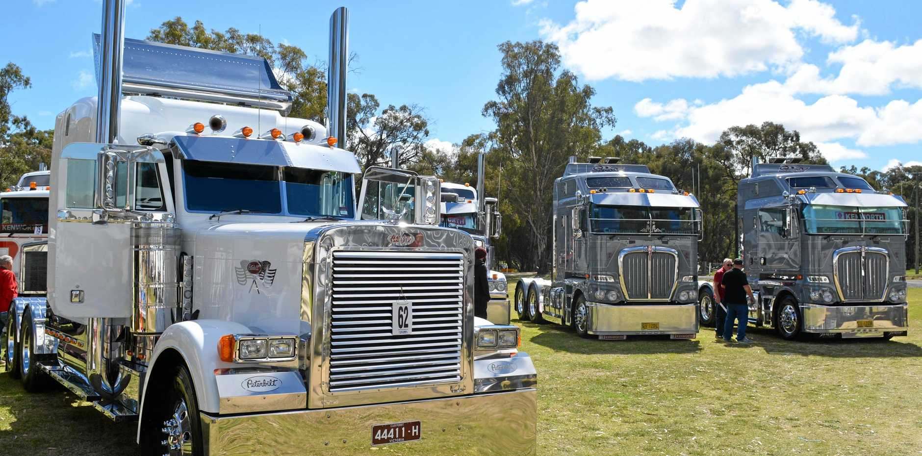 RIGS ON SHOW: Plenty of shine on show at Deniliquin.