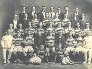 The Rockhampton Brothers premiership winning team of 1918.