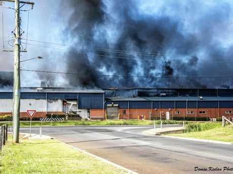 BEFORE: Swickers fire on November 6, 2016.