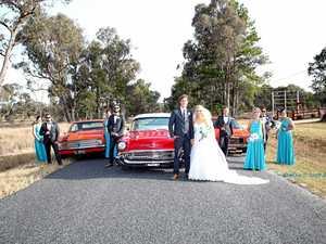 Stanthorpe couple enjoys 'perfect wedding day'