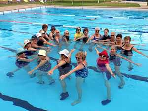 Get fit with aquatic workout