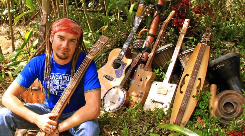 ON TOUR: Jay Hoad will play three gigs on the Sunshine Coast this weekend.