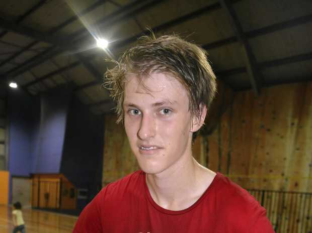 STEPPING UP: Warwick basketballer Jack Olive.