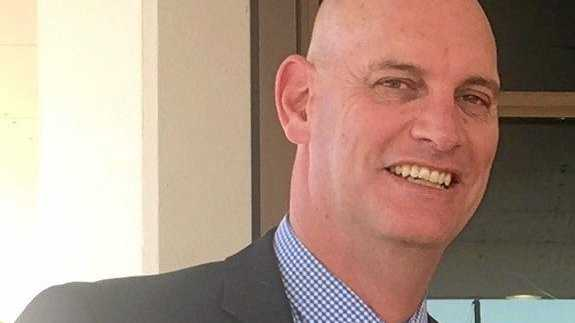BIG JOB: Brian Joiner is the new GM of Whitsunday Coast Airport.