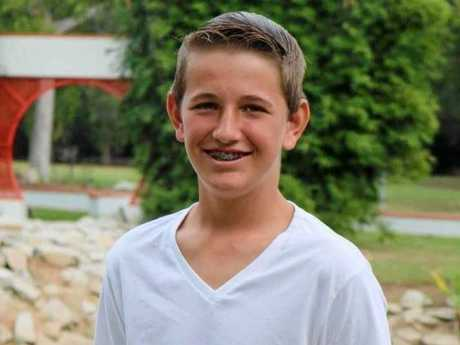 HELP FOR HARRISON: Harrison Lassig, 15, has been diagnosed with burkitts lymphoma. A cancer which has spread aggressively through his body.