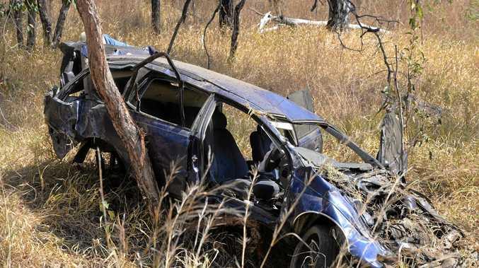 FATALITY: The crash happened on the Bruce Highway at Kolonga on Wednesday.