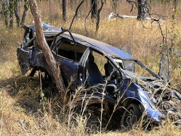 FATALITY: The crash happened on the Bruce Highway at Kolonga on Wednesday.