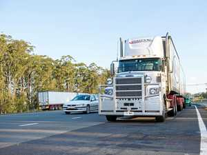 Coffs truck nightmare 'a part of the job'