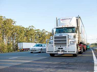 TRUCKING HELL: Truck drivers have accepted Coffs Harbour as a nightmare spot.