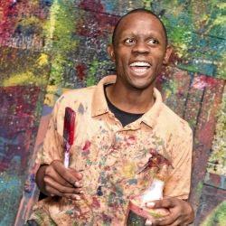 Lismore artist Mbatha Nguta.