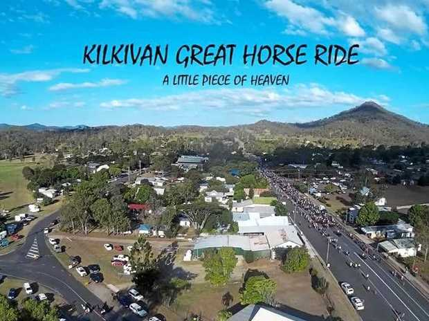 Though the drought continues, it will not stop the Kilkivan Great Horse Ride from going ahead next weekend.