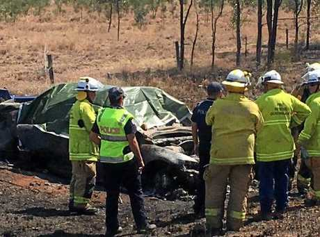 Rolleston accident with multiple fatalities.