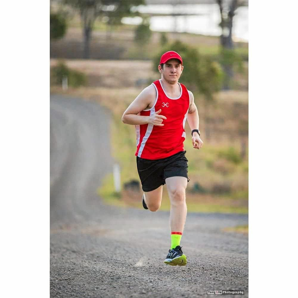 Billy Tindall is running from Melbourne to the Sunshine Coast for Daniel Morcombe Foundation.