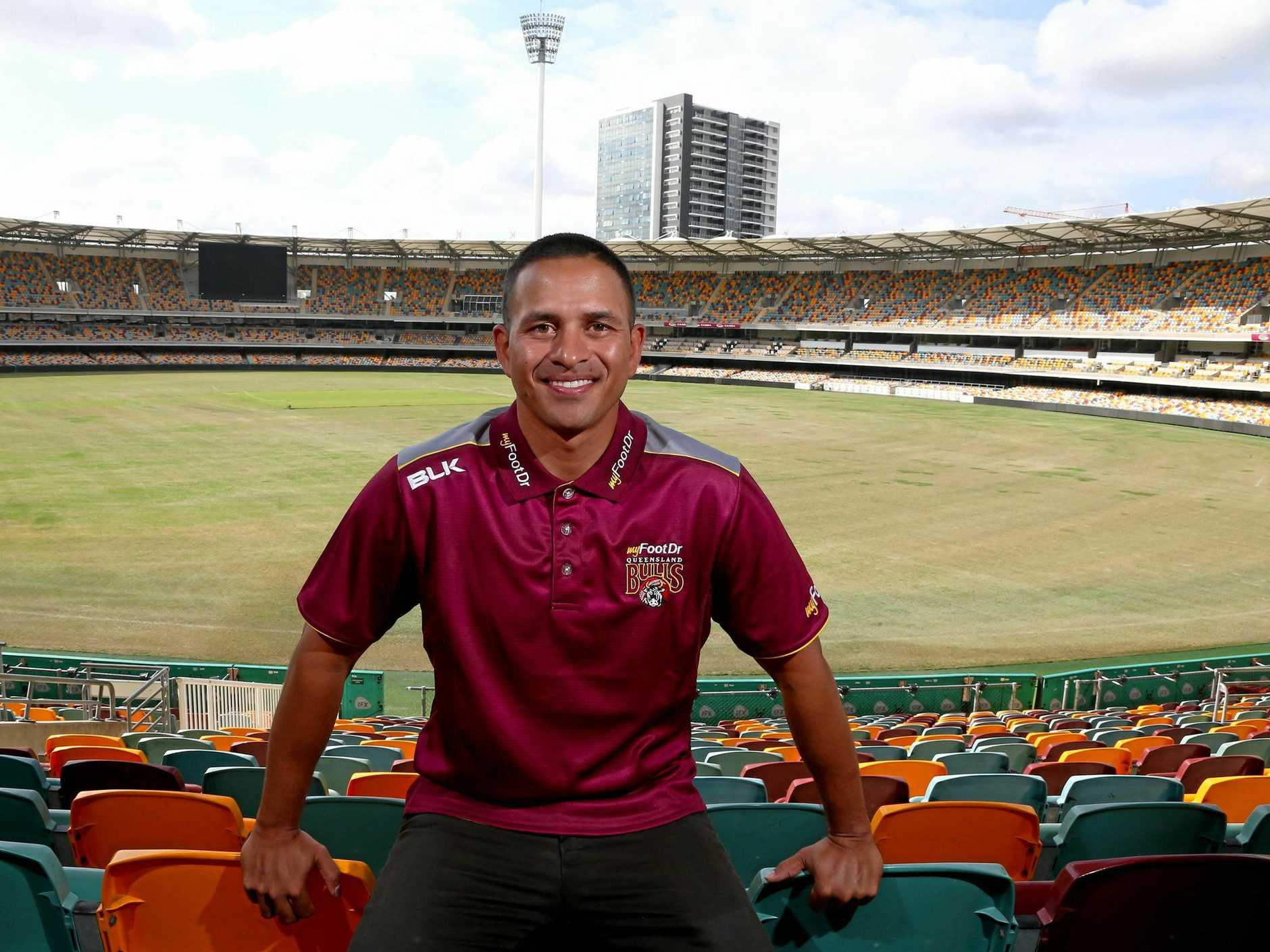 Queensland Bulls captain Usman Khawaja has his sights on winning this season's domestic one-day cup.