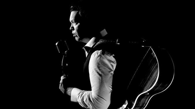 ON STAGE: Daniel Thompson and Stuie French will put on a Johnny Cash tribute show.