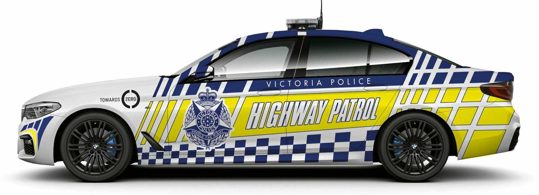 An illustration of how the Victoria Police vehicles could look.