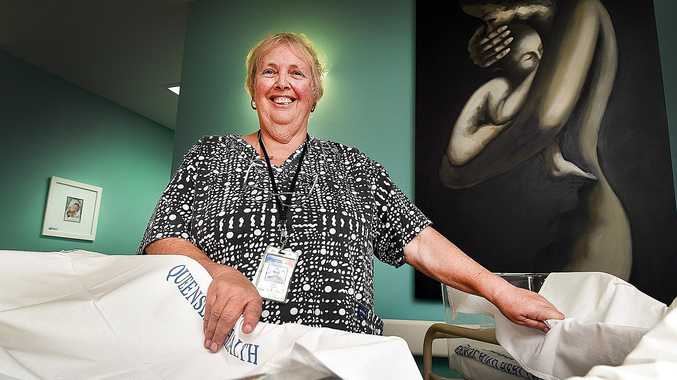SPECIAL TOUCH: Midwife Pearl North began delivering babies in 1970 when she was living in the United Kingdom.
