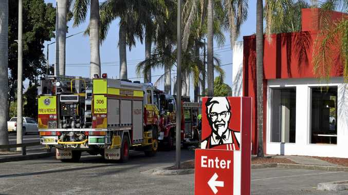 The Grafton KFC has been evacuated.