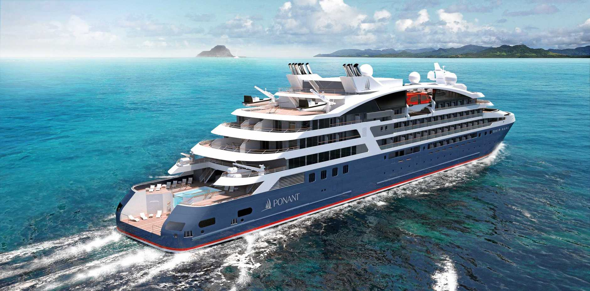 CRUISING: The soon to be launched Le Laperouse.