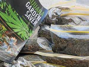 Cannabis, guns, ammo found