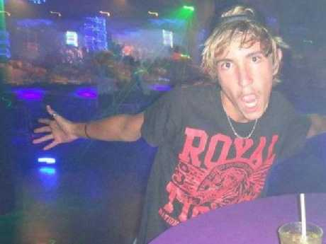 Ms Martini's boyfriend Steele Nugent. Picture: Channel 9