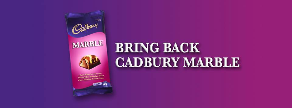 A Fan group for a discontinued line of Cadbury chocolate has been set up. Source: Facebook