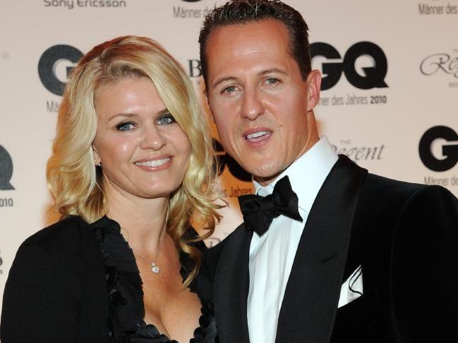 Schumacher with wife Corinna.Source:Supplied